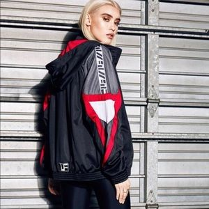 LF the brand small color block jacket